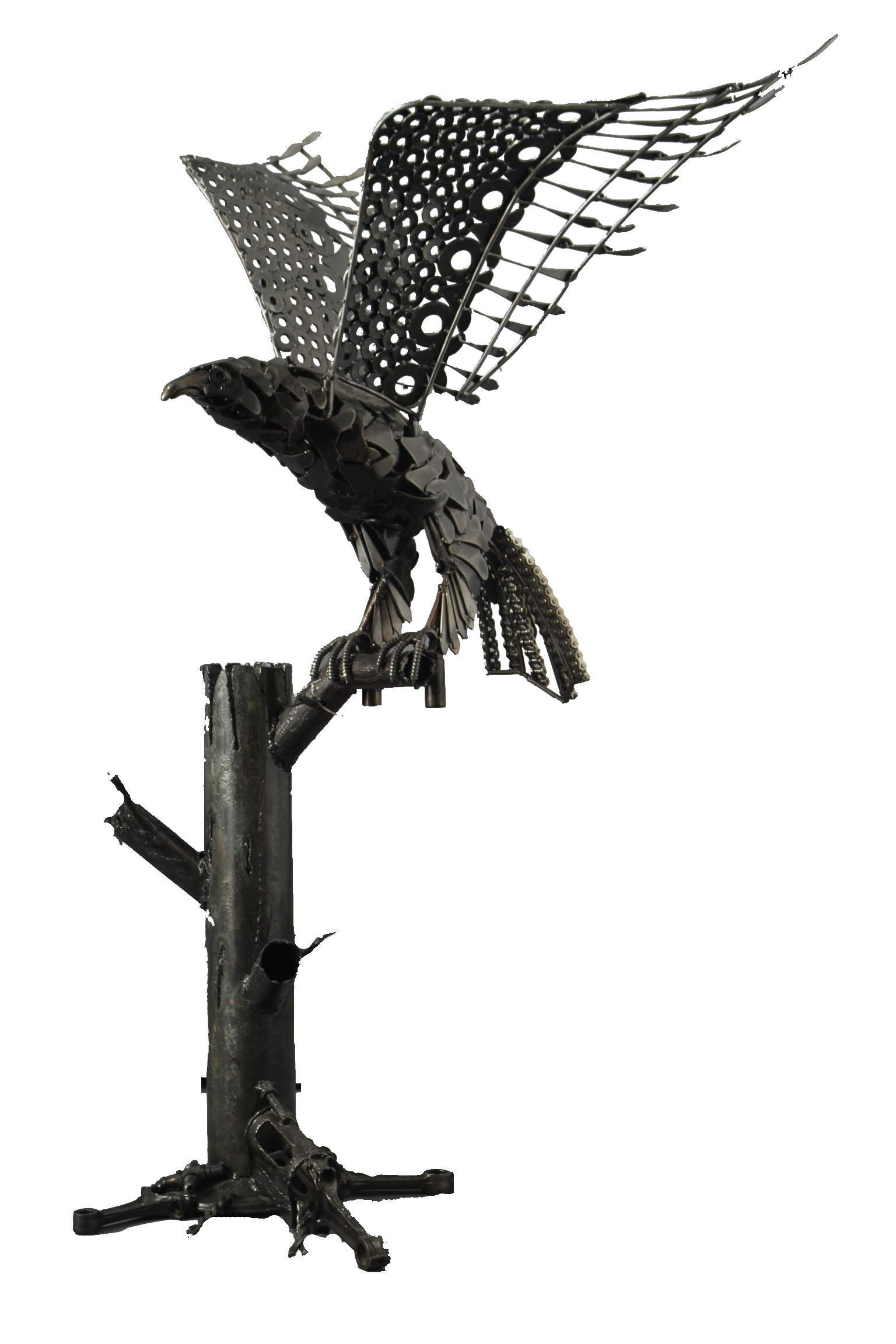 Орел из металла